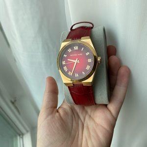 Michael kors red watch